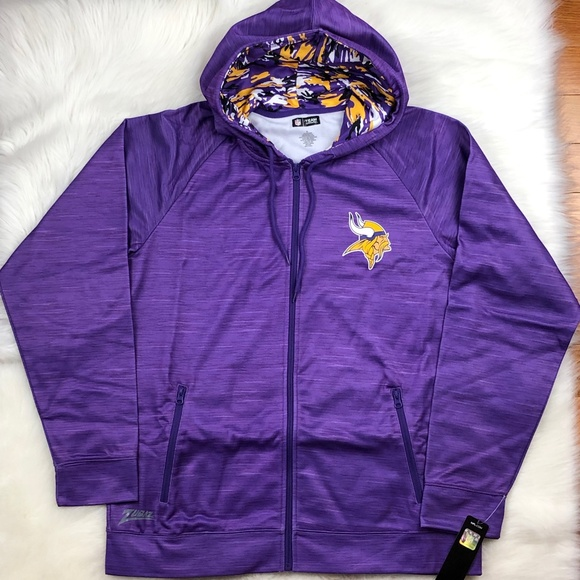 Minnesota Vikings Men's Performance Hoodie XL NFL Boutique